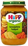 HiPP Organic Stage 2 From 7 Months Lancashire Hotpot 6 x 190 g (Pack of 2, Total 12 Pots)
