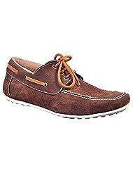 Aureno Men's Suede Sneakers - B011BGSM1U