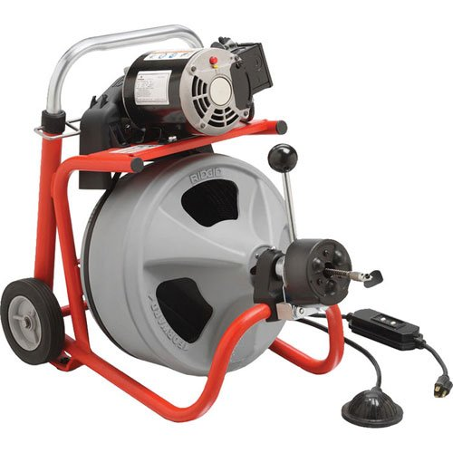 Ridgid 27013 K-400AF 115Volt C45IW Drum Machine with C45 Integral Wound Cable with Autofeed
