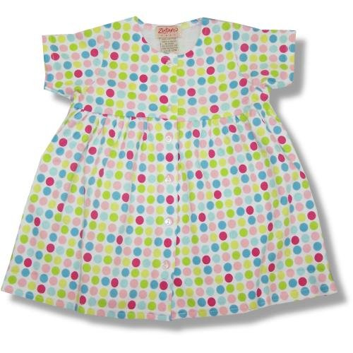 Zutano Baby And Infant Short Sleeve Dress ~ Gum Drops - Buy Zutano Baby And Infant Short Sleeve Dress ~ Gum Drops - Purchase Zutano Baby And Infant Short Sleeve Dress ~ Gum Drops (Zutano, Zutano Apparel, Zutano Toddler Girls Apparel, Apparel, Departments, Kids & Baby, Infants & Toddlers, Girls, Skirts, Dresses & Jumpers, Dresses)