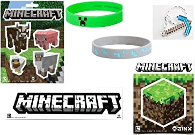 Official Minecraft Diamond Pickaxe Collection Gift Set Of 11 Items from MOJANG