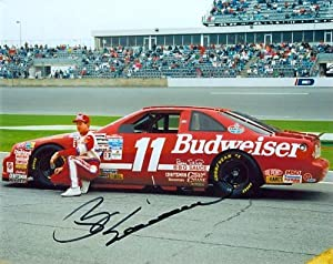 Bill Elliott Autographed Hand Signed Nascar 8x10 Photo by Real Deal Memorabilia