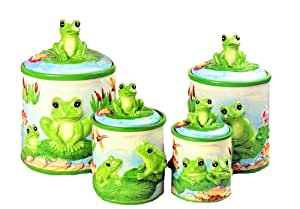 Amazoncom Frog Green Froggy 4 Canister Set Kitchen. Beds For Small Rooms. Room Store Houston. Solid Wood Dining Room Table And Chairs. Hotels With Jacuzzi In Room Atlantic City Nj. Christmas Decoration Indoor Ideas. Pink Living Room Furniture. Decorative Window Sills. Moroccan Living Room Furniture