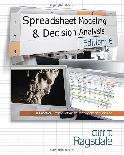 Spreadsheet Modeling & Decision Analysis (Book Only)