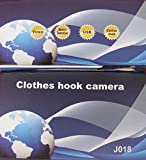 New High Definition Motion-Activated Clothes Hanger high-defition Camera - DVR with TF Card Slot Surveillance Hidden