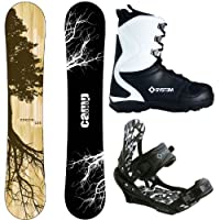Camp Seven Roots CRC and APX Mens Complete Snowboard Package 2015 from Camp Seven