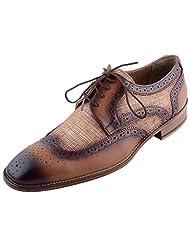 D.Desire Men's Leather Formals & Lace-Up Flats - B00Y1EKLRS