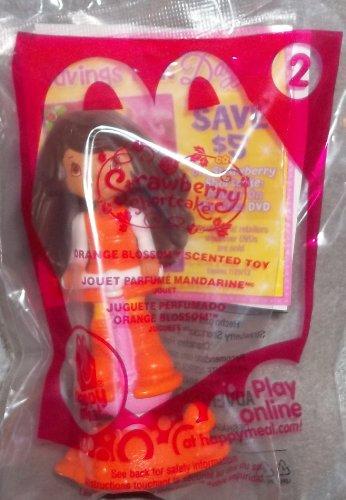 2011 McDonald's Strawberry Shortcake Doll #2 Orange Blossom - 1