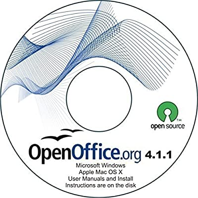 Office Suite CD - Compatible with Microsoft Works & Office - includes complete user e-manuals, over 3000 pages - Runs on Windows 10, 8, 7, Vista and XP and MAC OS X.