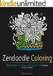 Zendoodle Coloring: 70 Unique Floral...