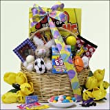 Egg-streme Sports &amp; Games: Easter Gift Basket for Boys <br>Ages 6 to 9 Years Old