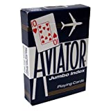Aviator Jumbo Index Playing Cards - 1 Sealed Blue Deck