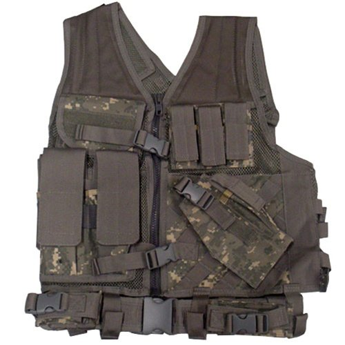 NcStar Tactical Vest Digital Camo