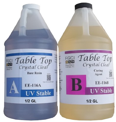 epoxy-table-top-resin-11-1-gallon-kit-crystal-clear-parts-a-b-included