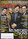 Rolling Stone Magazine March 28, 2013 Mumford & Sons