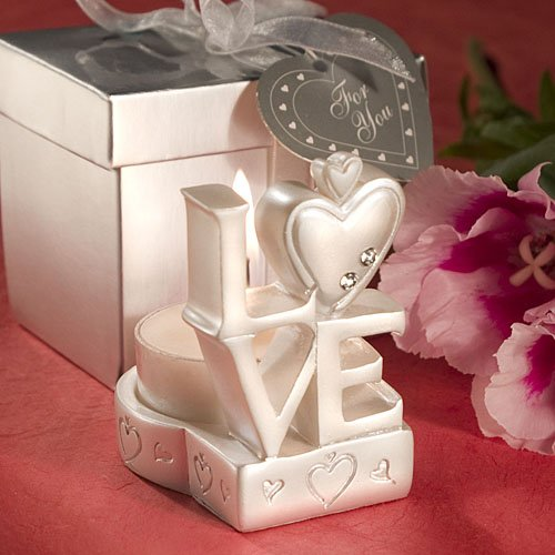 Love Design Candle Holder Favors, 1