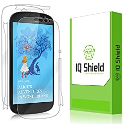 IQ Shield LiQuidSkin - Yota YotaPhone 2 Screen Protector + Full Body (Front & Back) with Lifetime Replacement Warranty - High Definition (HD) Ultra Clear Smart Film - Premium Protective Screen Guard - Extremely Smooth / Self-