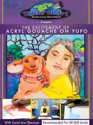 Acryl Gouache on Yupo