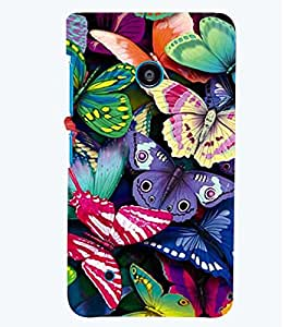 printtech Colorful Butterfly Back Case Cover for Nokia Lumia 530::Microsoft Lumia 530