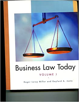 Business Law Today, Roger LeRoy Miller, 11th Edition *EBOOK/PDF* READ*