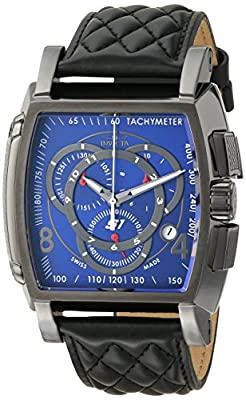 Invicta Men's 15793 S1 Rally Analog Display Swiss Quartz Black Watch