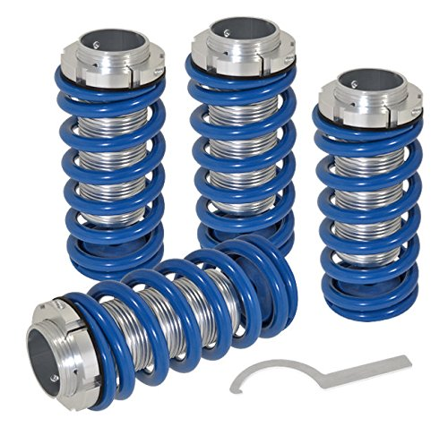 For Acura Integra Honda Accord CRX Civic Del Sol Prelude Non-Scaled Height Adjustable Lower Coilovers Spring Blue (1990 Honda Accord Coilover Kit compare prices)