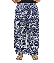 Bright & Shining Women Blue Cotton Pyjama