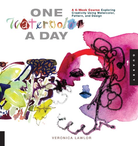 One Watercolor a Day: A 6-Week Course Exploring Creativity Using Watercolor, Pattern, and Design (One A Day) (A Painting A Day compare prices)
