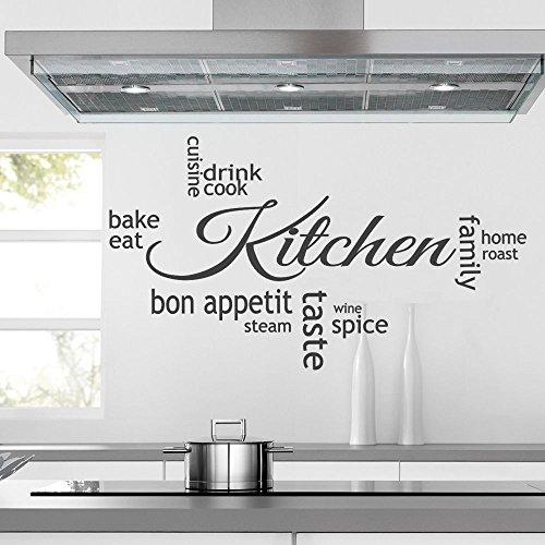 iClobber Kitchen Collage Decorative Wall Art Mural Sticker Vinyl Art Med Lime