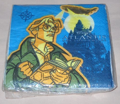 Atlantis: The Lost Empire Party Beverage Napkins