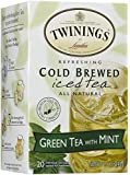 Twinings Mint Green Cold Brewed Iced Tea - 20 ct