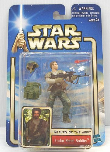 Star Wars EP2 AOTC Endor Rebel Soldier without Beard