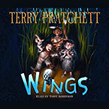 Wings: Bromeliad, Book 3 (       UNABRIDGED) by Terry Pratchett Narrated by Stephen Briggs