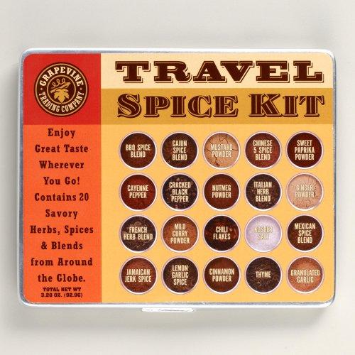 20 Spice Large Travel Spice Kit
