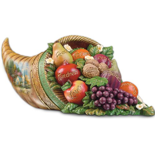 Thomas Kinkade's Fruit Of The Spirit Tabletop Centerpiece (Fruit And Plenty compare prices)