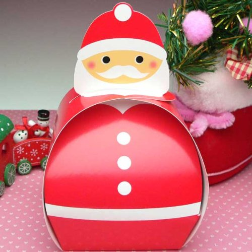クリスマスお菓子 可愛いサンタBOXにビスケットとキャンディーセット 可愛いお菓子セット315 xr-23