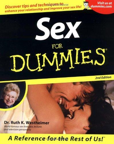 Sex For Dummies (For Dummies (Computer/Tech))