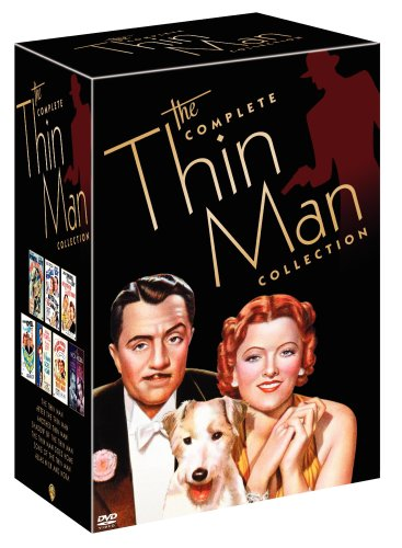 Cover art for  The Complete Thin Man Collection (The Thin Man / After the Thin Man / Another Thin Man / Shadow of the Thin Man / The Thin Man Goes Home / Song of the Thin Man / Alias Nick and Nora)