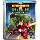 Iron Man and Hulk: Heroes United (Blu-ray + DVD + Digital Copy)