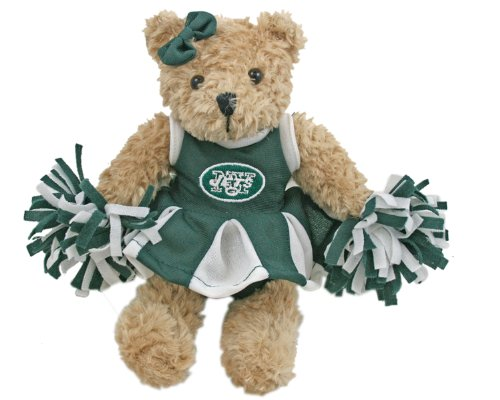 NFL New York Jets Cheerleader Bear at Amazon.com