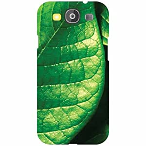 Samsung Galaxy S3 Neo - Green Leaf Matte Finish Phone Cover