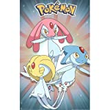 Image of Pokemon Game 3 Characters 11X17 Poster New 1391E