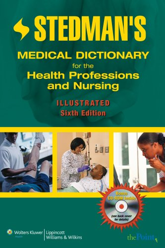 Get Best Price Stedman's Medical Dictionary for the Health Professions and Nursing, Illustrated, Sixth  Edition (Stedman's Concise Medical