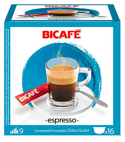 Choose 96 (6x16 Capsule Packs) BiCafe ® Espresso Dolce Gusto ® Compatible Coffee Capsules from BiCafe