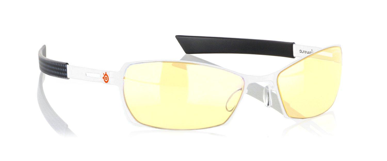 Gunnar Optiks Steel Series Scope Full Rim Advanced Video Gaming Glasses with Amber Lens Tint компьютерные очки gunnar vinyl crystalline
