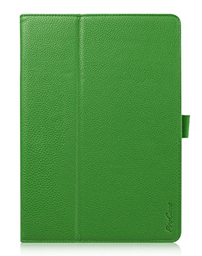 Apple iPad Air 2 Case - ProCase Folio Stand Cover Case Exclusive for iPad Air 2, with bonus procase stylus pen (iPad 6th Gen, iPad Air 2nd Gen, Air2) (Green) (Flip Slide compare prices)