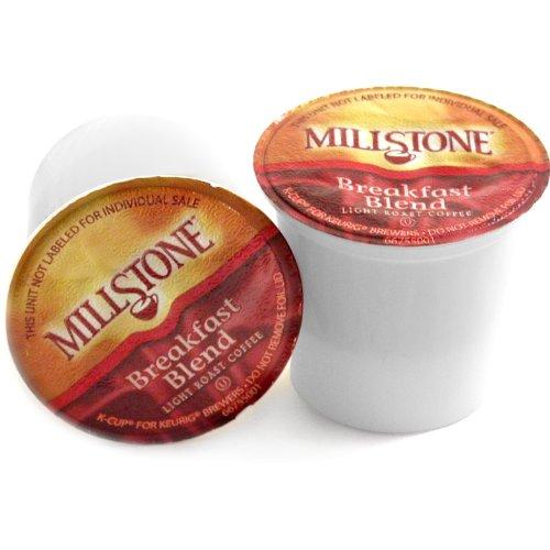 Millstone Breakfast Blend Fairtrade Coffee Keurig K-Cups, 72 Count