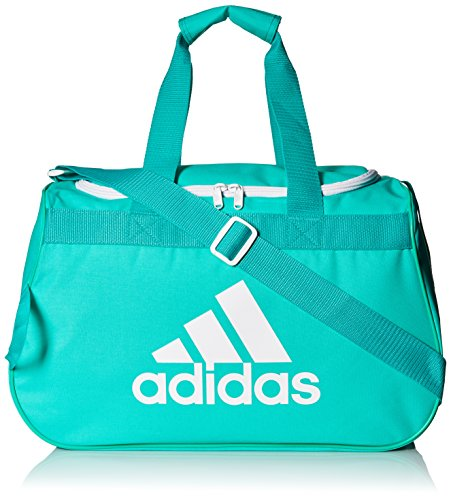 adidas Diablo Duffel Bag, Shock Mint/White, Small