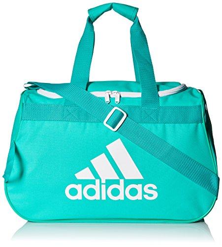 adidas Diablo Duffel Bag, Shock Mint/White, Small