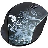 Verbatim Wireless Optical Design Mouse, Graphite 97786